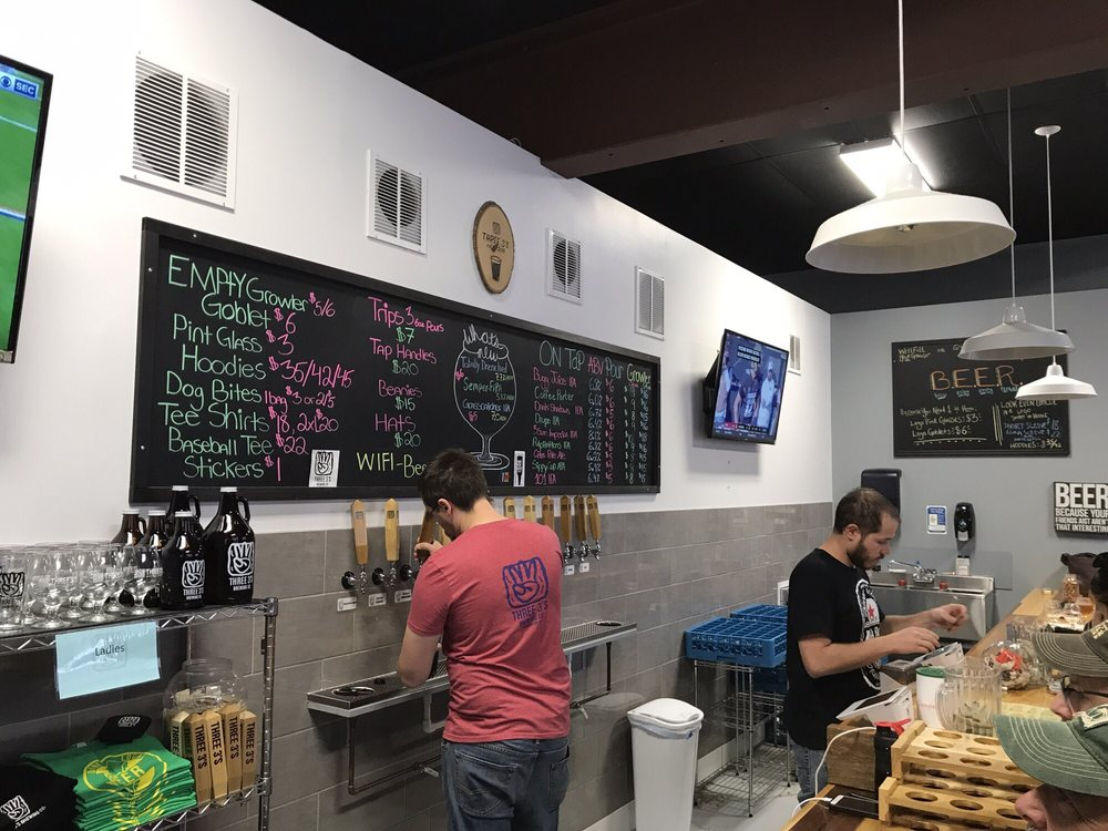 Three 3's Brewing Company: 50 13th St, Hammonton, NJ