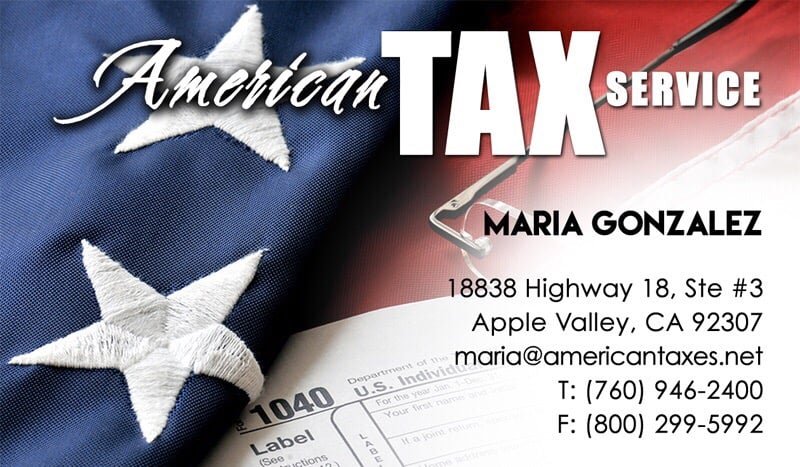 American Tax Service: 18838 Hwy 18, Apple Valley, CA