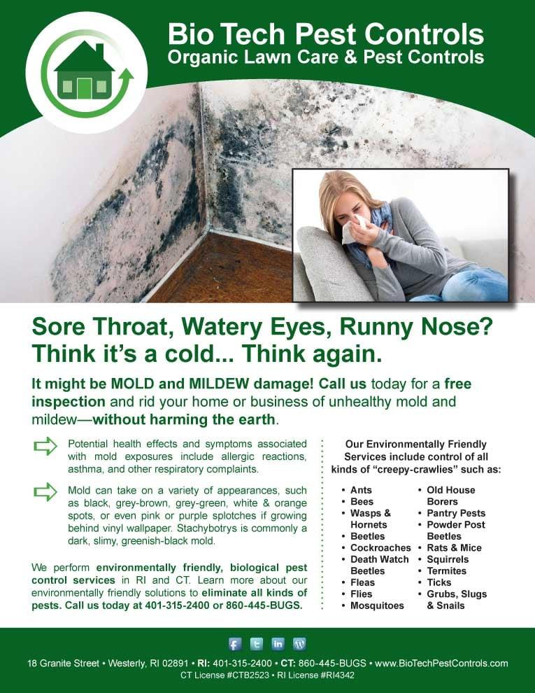 Bio Tech Pest Controls: 18 Granite St, Westerly, RI