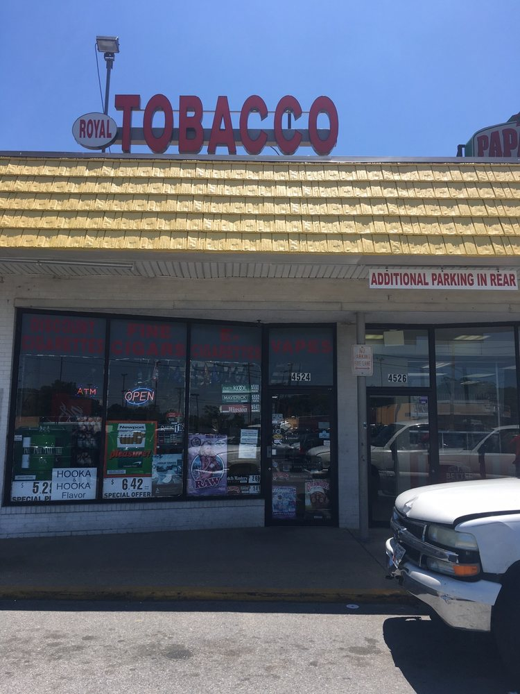 Royal Tobacco: 4524 St Barnabas Rd, Temple Hills, MD