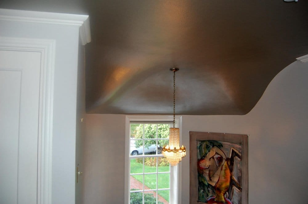 Photo Of A Fresh Coat Painting Beaverton Or United States Contoured Ceiling