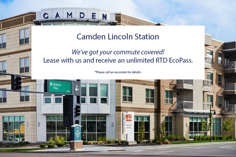 Camden Lincoln Station Apartments: 10177 Station Way, Lone Tree, CO