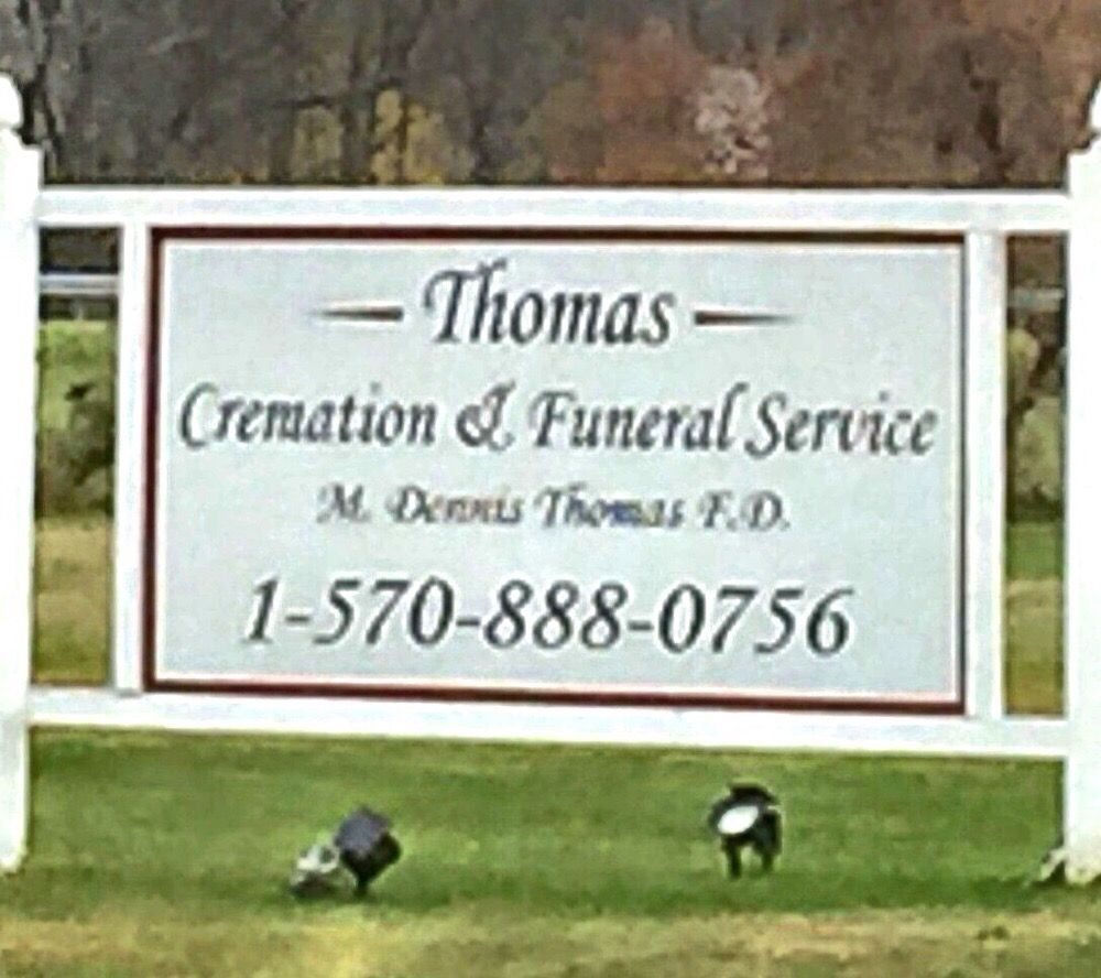Thomas Cremation & Funeral Service: 1297 Elmira St, Sayre, PA