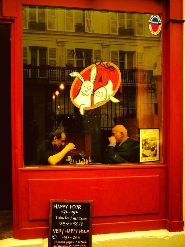 Photo de Marlusse et Lapin - Paris, France. La façade du bar (photo du myspace officiel)