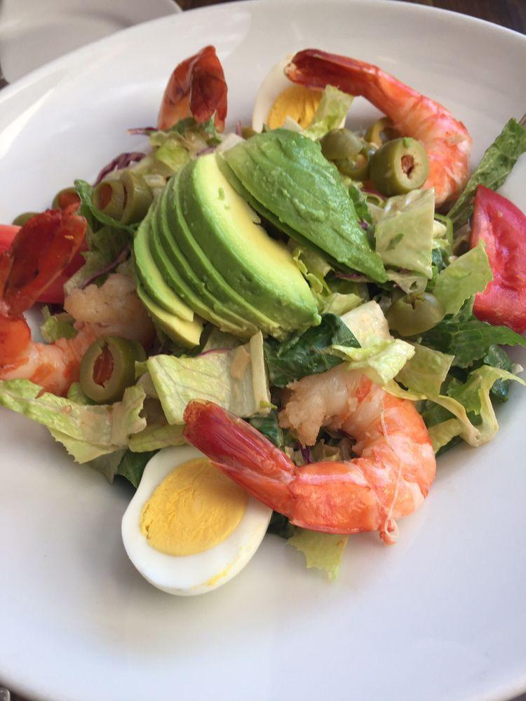 Shrimp louis salad with avocado yelp for Rock n fish manhattan beach