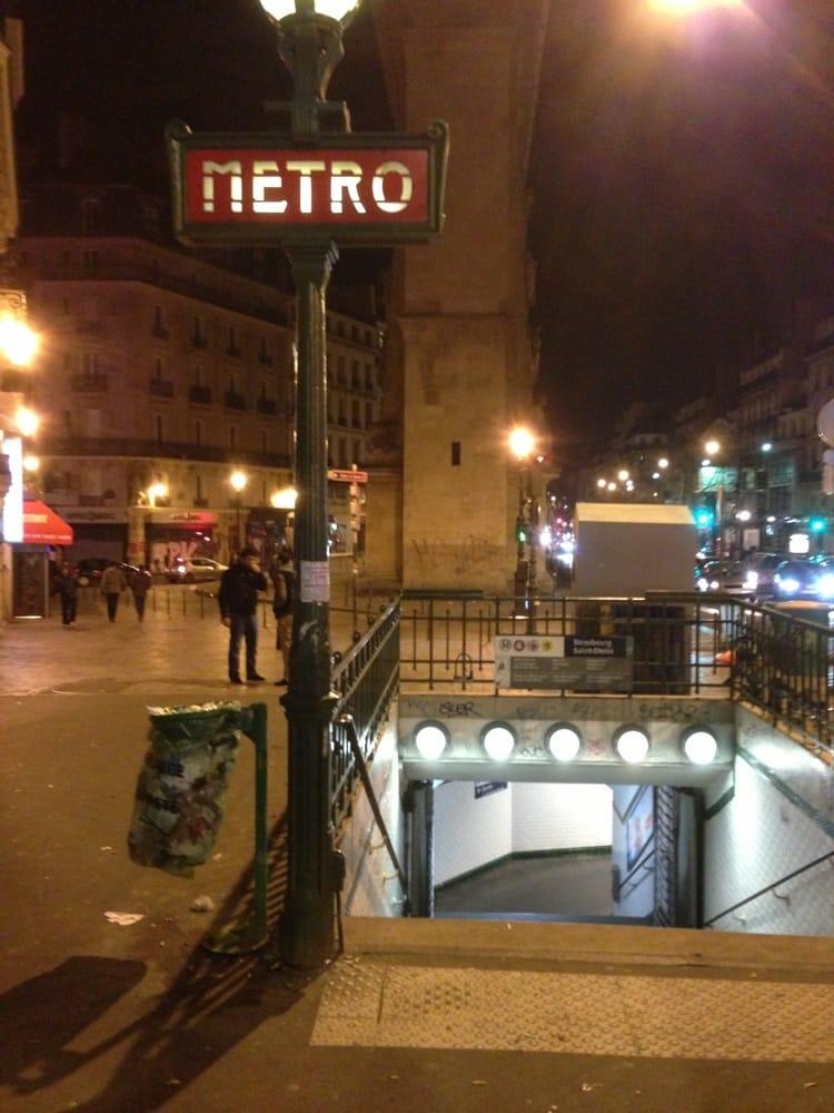 M tro strasbourg saint denis metro stations boulevard - Lidl strasbourg saint denis ...