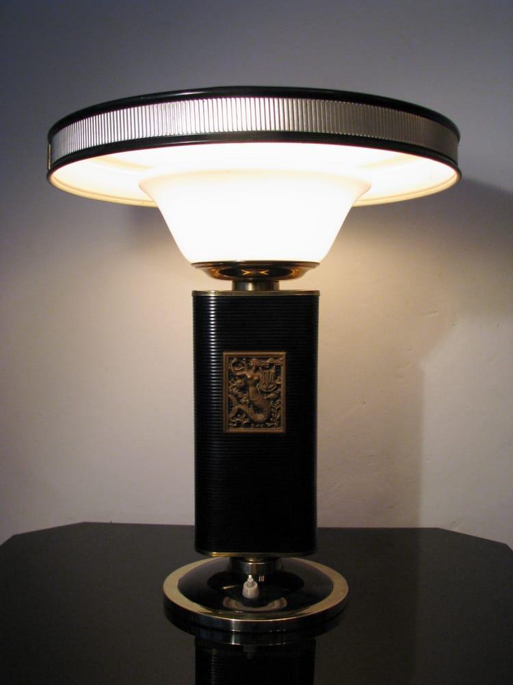 eileen gray mermaid tisch oder schreibtisch lampe um 1925 yelp. Black Bedroom Furniture Sets. Home Design Ideas