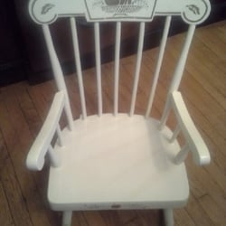 Photo Of Jones Furniture Refinishers   Larchmont, NY, United States.  Rocking Chair Refinished