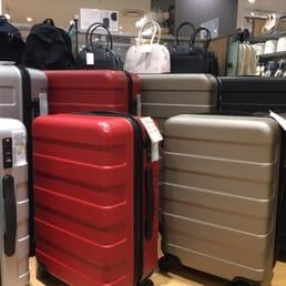 Muji Suitcase Hard carry 35L Khaki Green bar height adjustable & stopper  roller toGO