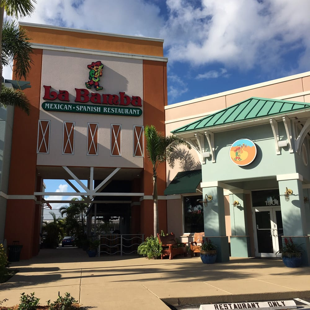 La Bamba Mexican And Spanish Restaurants Fort Lauderdale Fl