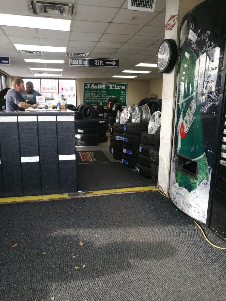 J & M Tire & Alignment: 872 E Little Creek Rd, Norfolk, VA