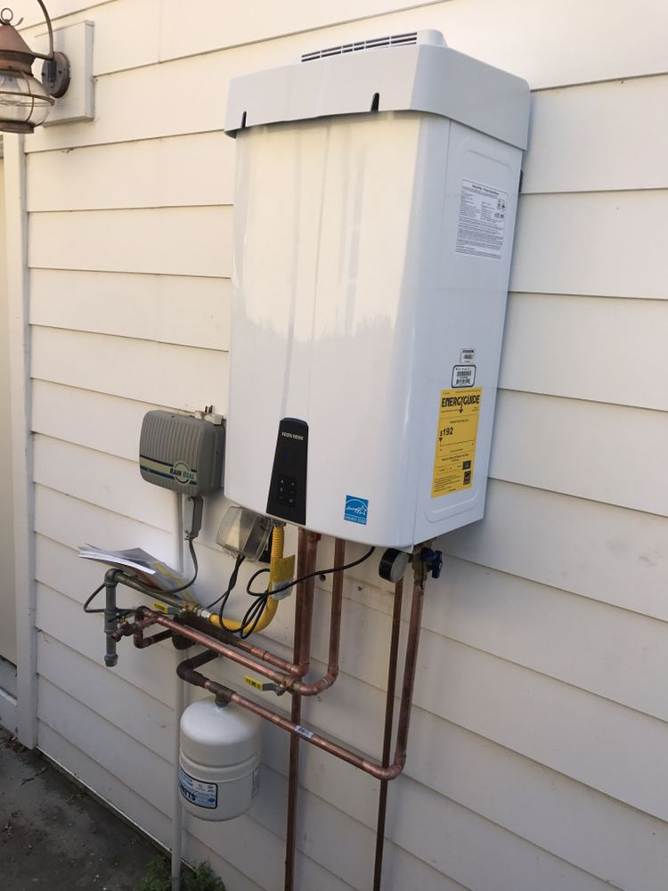 Navien Npe240a Tankless Water Heater Installation With