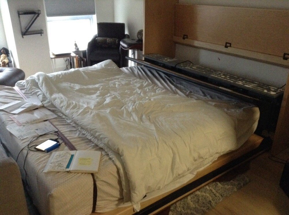 Custom Bed From Flying Beds Of Denver Flew Off The Wall Like Their
