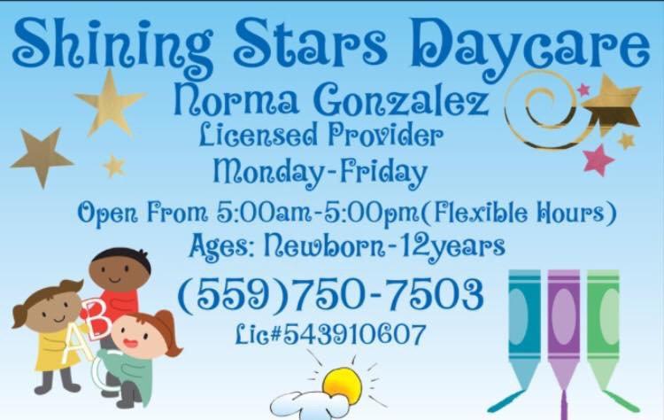 Shining Stars Daycare: 3931 E Elowin Ave, Visalia, CA