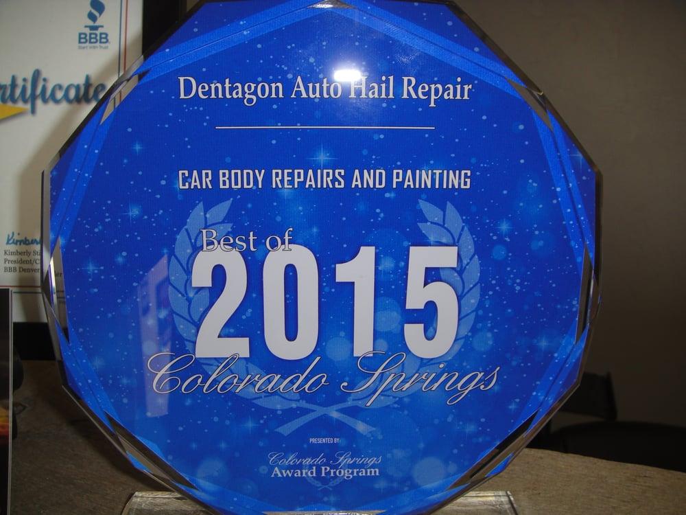 Dentagon Auto Hail Repair