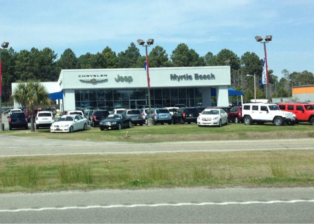 Jeep Dealers Near Myrtle Beach Sc