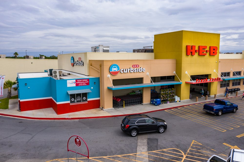 H-E-B: 613 S Expressway 83, Harlingen, TX
