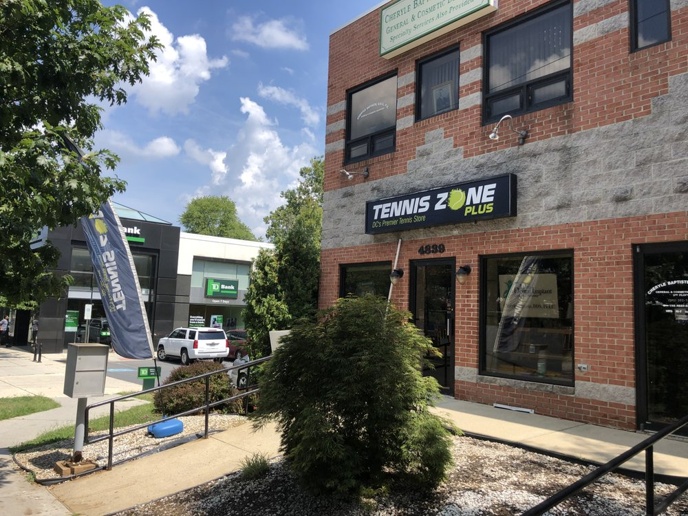 Tennis Zone Plus: 4839 Wisconsin Ave NW, Washington, DC, DC