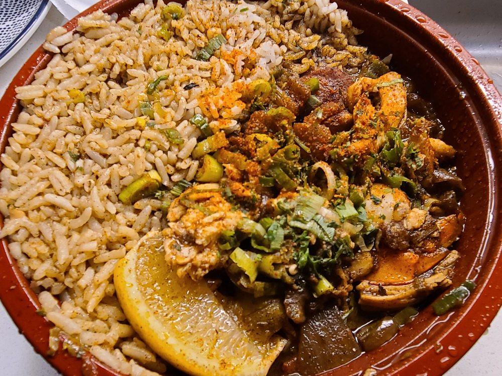 Food from Mumbo Gumbo PDX