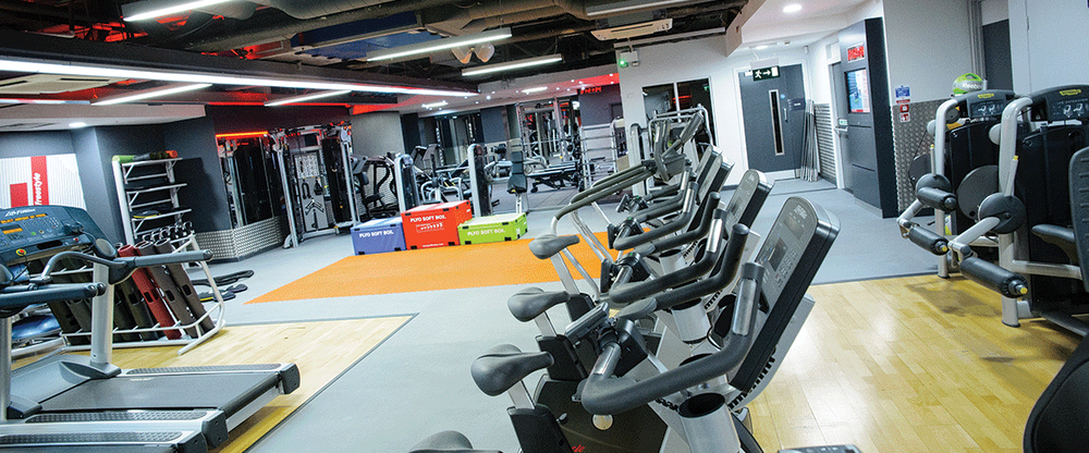Facilities at Fitness First Oxford Circus