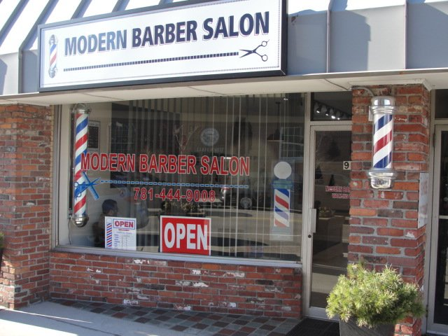 Modern Barber Salon: 93 Chapel St, Needham, MA