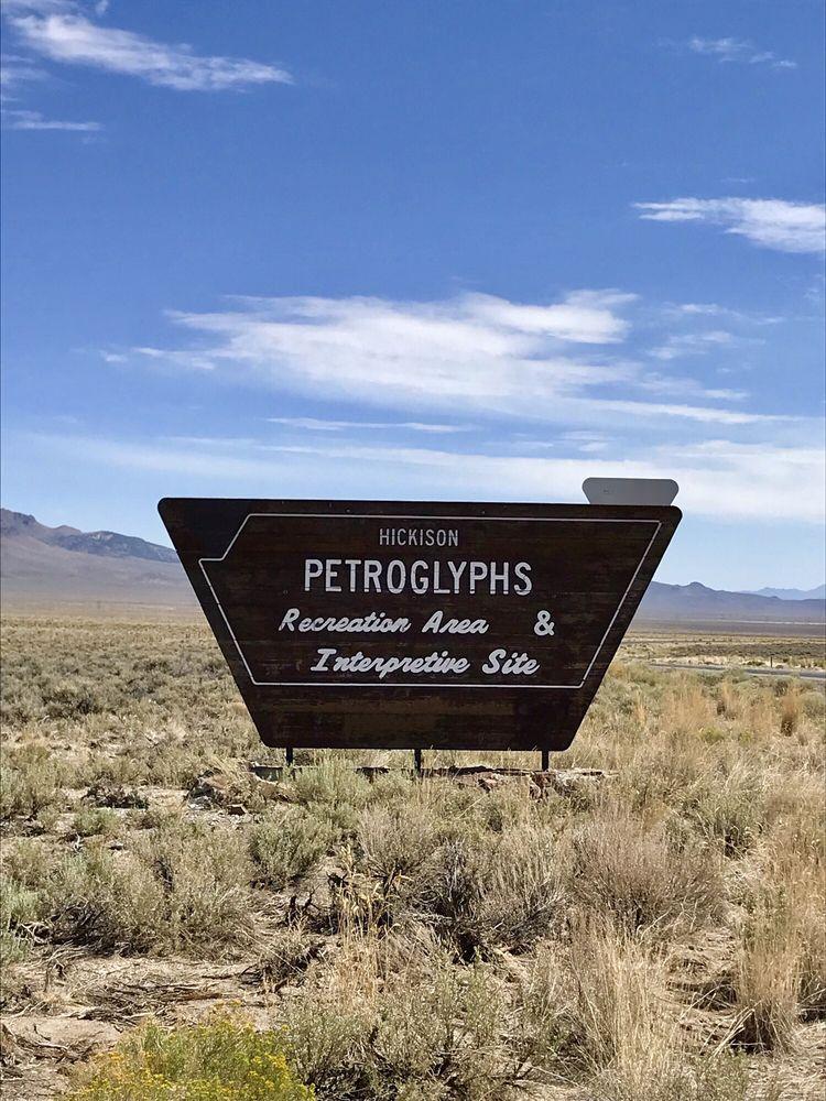 Hickison Petroglyph Recreation Area: Hwy 50, Austin, NV