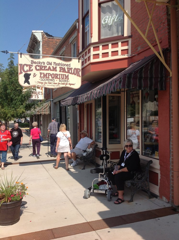Becky's Old Fashioned Ice Cream Parlor & Emporium