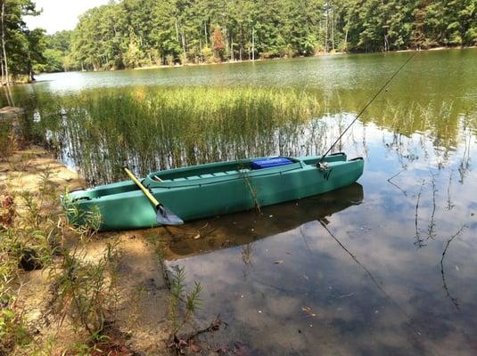 North georgia kayaks closed fishing 175 goldfinch for Lake acworth fishing