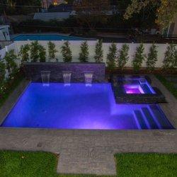 Milestone design development 103 photos builders for Pool design ventura