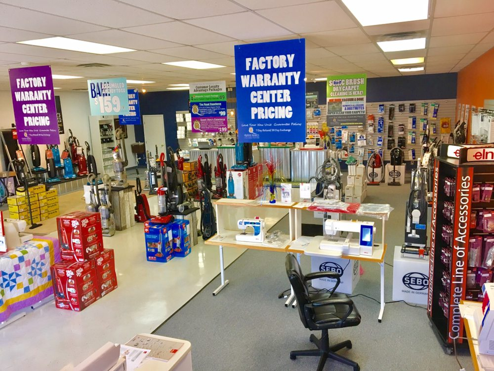 Queen Mary's Vacuum, Sewing & Allergy Center: 4509 Washington Ave, Evansville, IN
