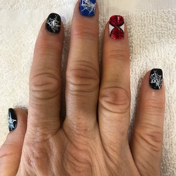 Photo Of Rossmoor Nails Spa Seal Beach Ca United States Spiderman