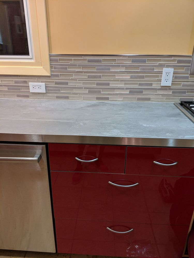 Photo Of Unique Tile San Mateo Ca United States Countertop With