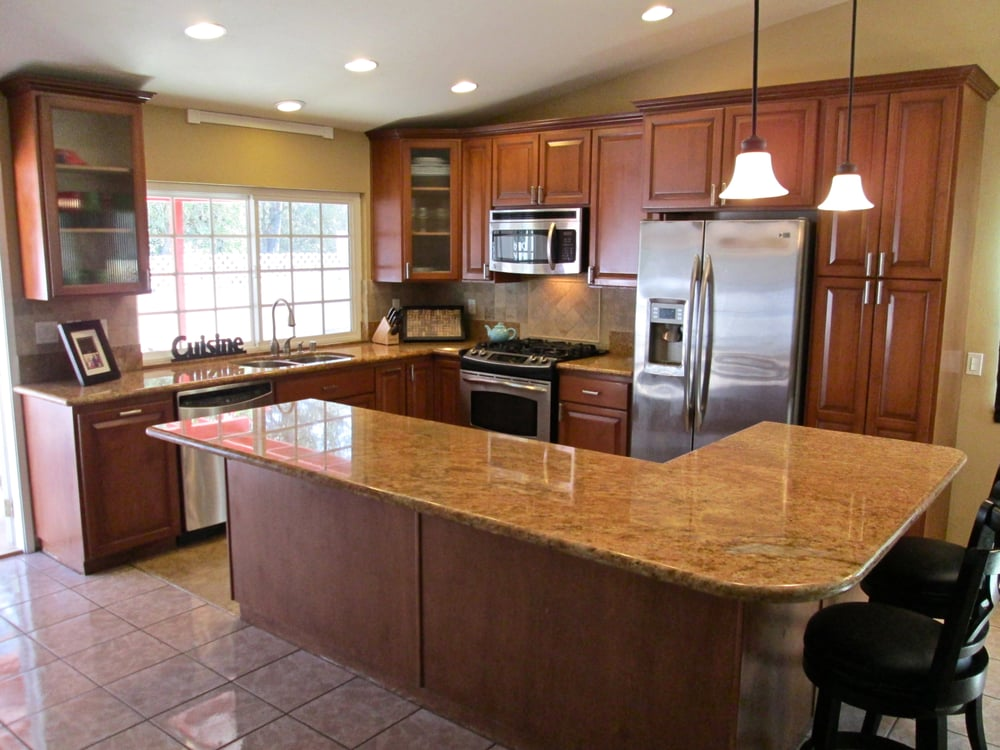 Complete kitchen remodel in scripps ranch including all for Complete kitchen remodel