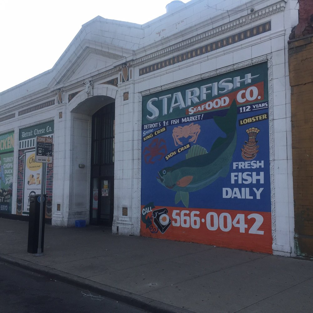 Star fish seafood seafood markets 1429 gratiot ave for Detroit fish market
