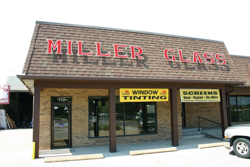Miller Glass of Rolla: 412 S Bishop Ave, Rolla, MO