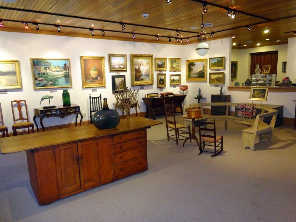 Charles Flint Fine Art & Antiques Gallery: 52 Housatonic St, Lenox, MA