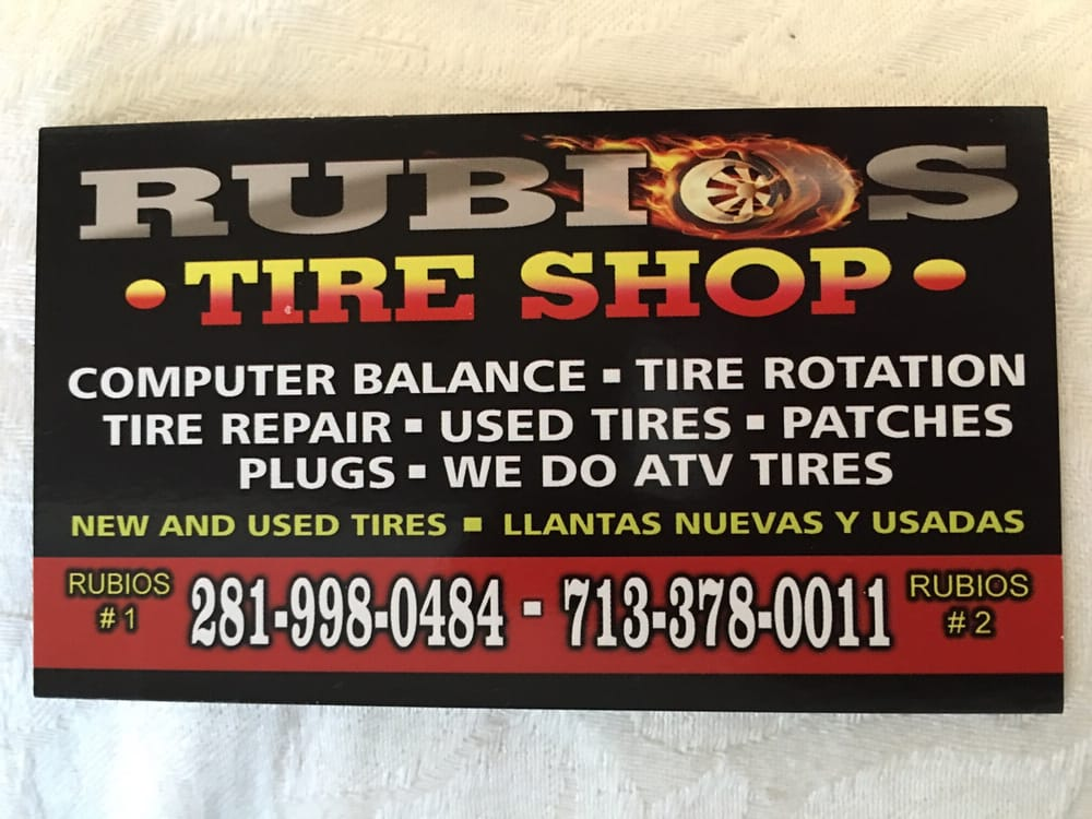 Colorful business card yelp photo of rubios tire shop pasadena tx united states colorful business card colourmoves