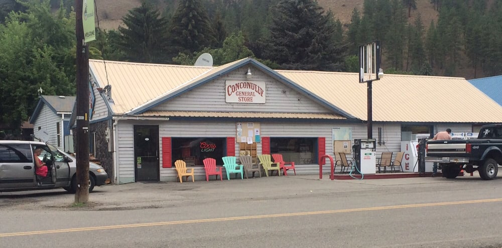 Conconully General Store: 201 N Main St, Riverside, WA