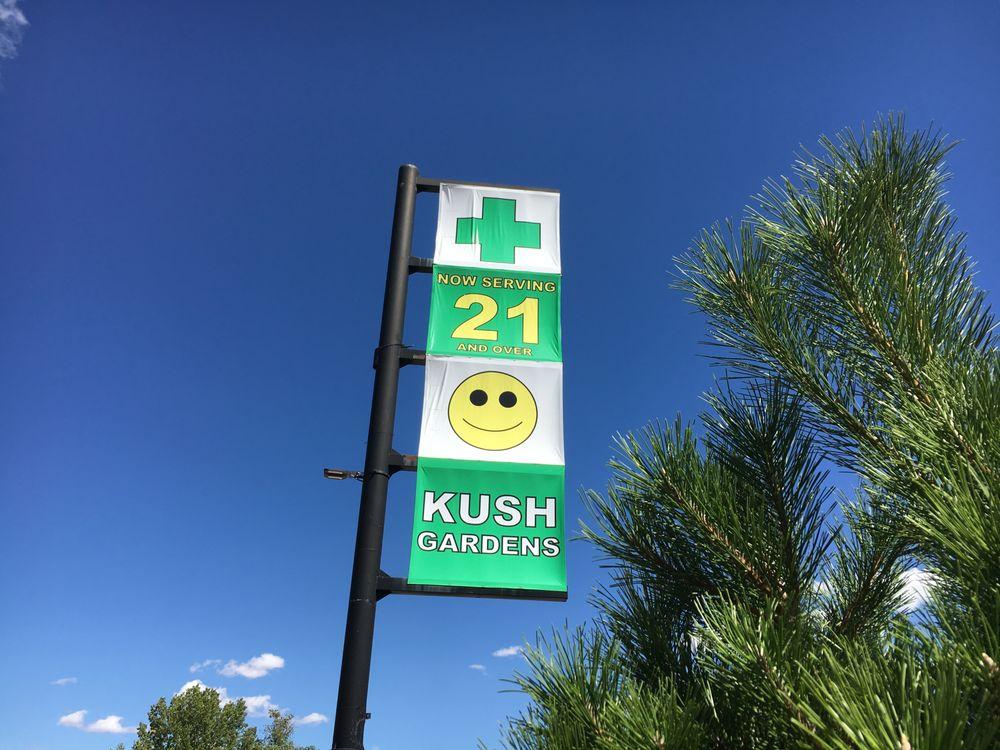 Kush Gardens Cannabisbutiker 4550 Us 6 De Beque Co