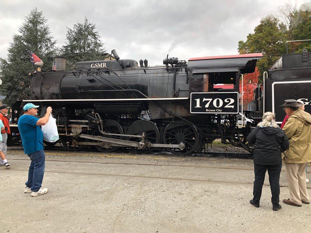 Great Smoky Mountains Railroad: 45 Mitchell St, Bryson City, NC