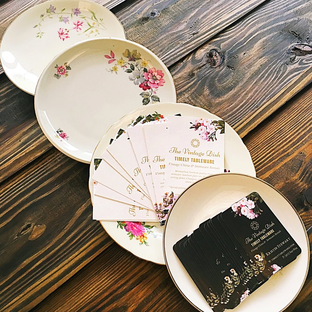 The Vintage Dish - Timely Tableware