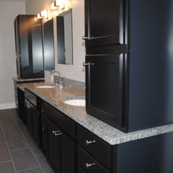 Photo Of Creative Countertops   Toms River, NJ, United States.  Sophisticated Granite Bathroom