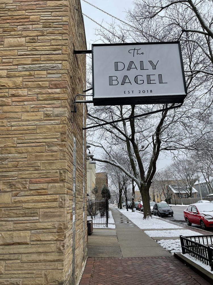 The Daly Bagel: 130 Chicago Ave, Oak Park, IL
