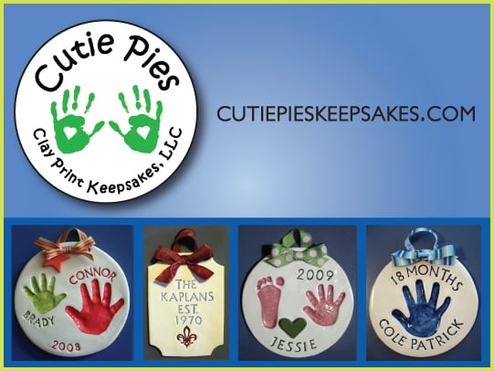 Cutie Pies Clay Print Keepsakes: 18420 Mill Run Ct, Leesburg, VA