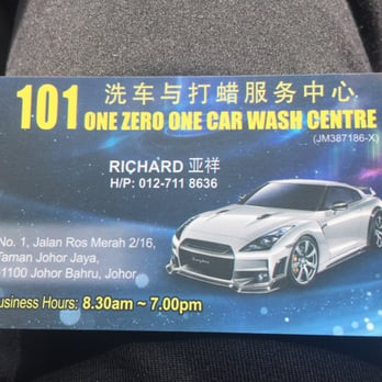 Car Wash Start Up Cost Malaysia
