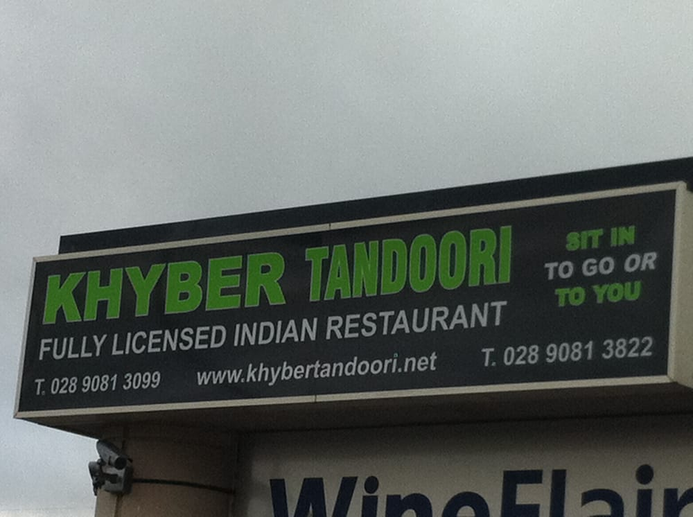 Khyber Indian Restaurant Saintfield Road