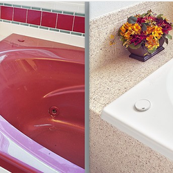 Bathroom Sinks Knoxville Tn miracle method of knoxville - kitchen & bath - 1219 hilton rd