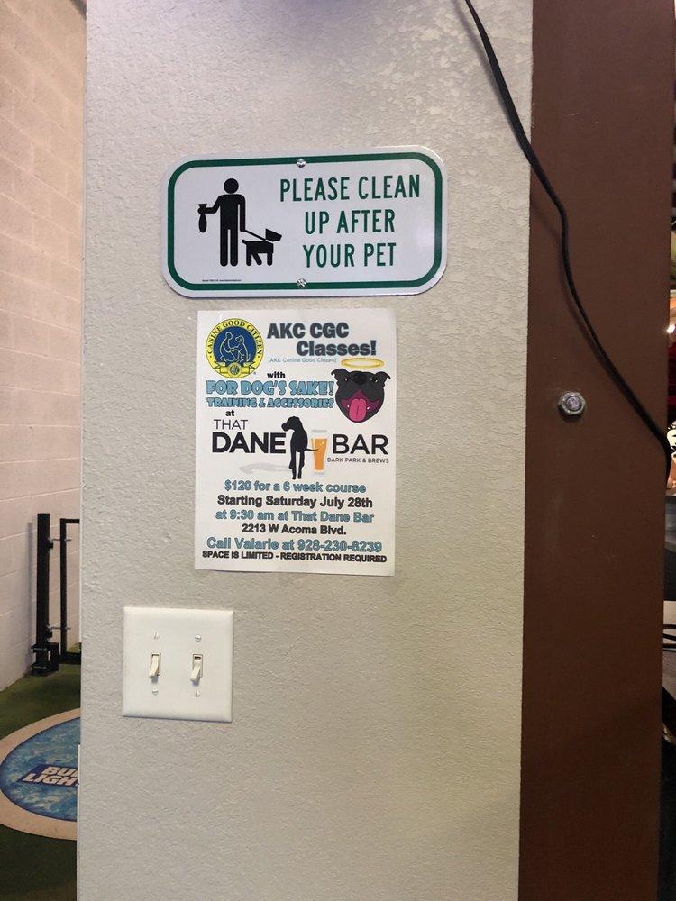 That Dane Bar: 2213 W Acoma Blvd, Lake Havasu City, AZ