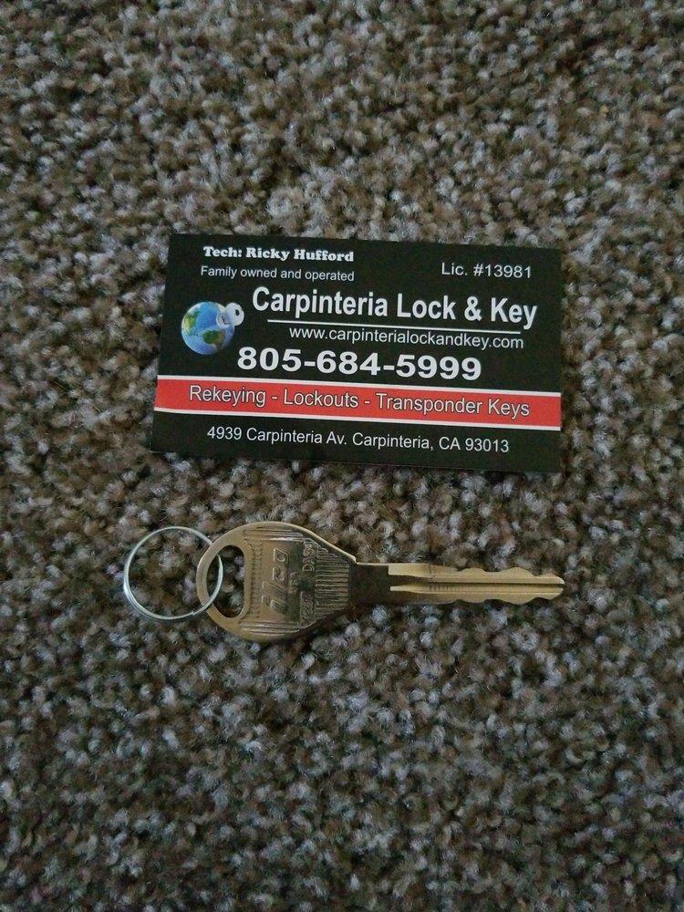 Carpinteria Lock & Key: 4939 Carpinteria Ave, Carpinteria, CA