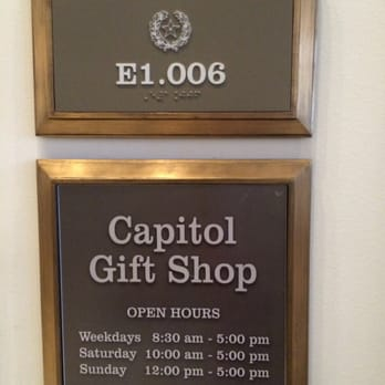 Capitol Gift Shop - Gift Shops - 1400 N Congress Ave, Downtown ...